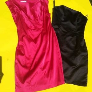1 Kay Unger and 1 Impression dress.